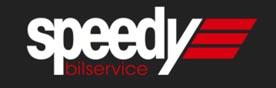 Speedy bilservice logotyp